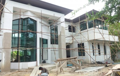Kh.Alisa's house exterior in progress